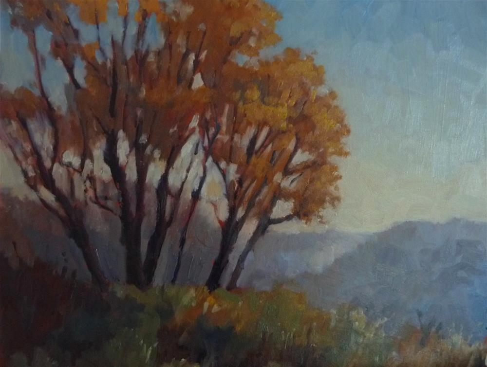 """Early Morning in Autumn"" original fine art by Lisa Kyle"
