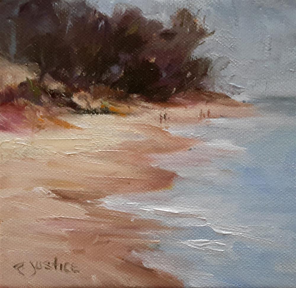 """""""Calm Waters"""" original fine art by Rebecca Justice-Schaab"""