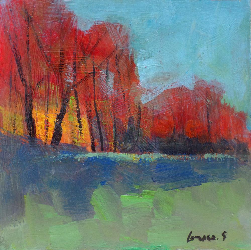 """The gand trees 2"" original fine art by salvatore greco"