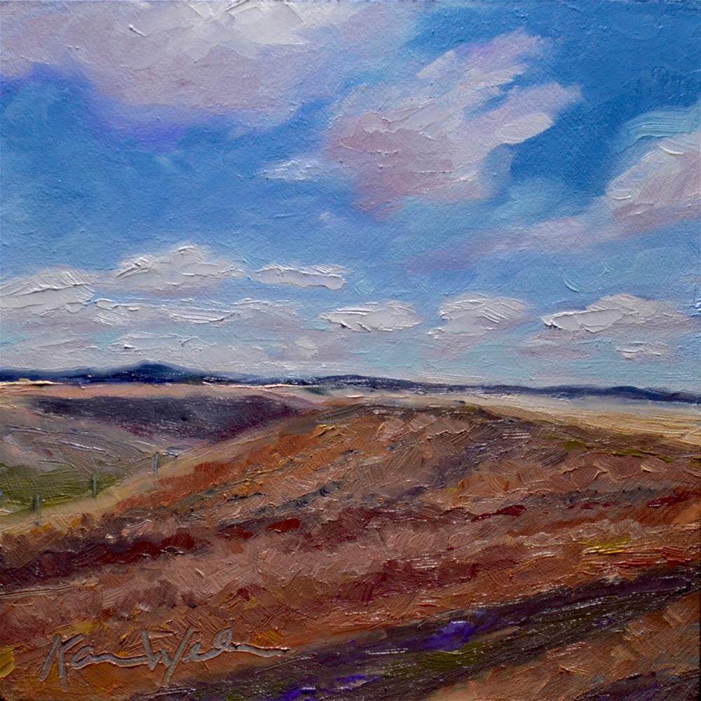 """""""Montana Daydream"""" original fine art by Karen Weber"""