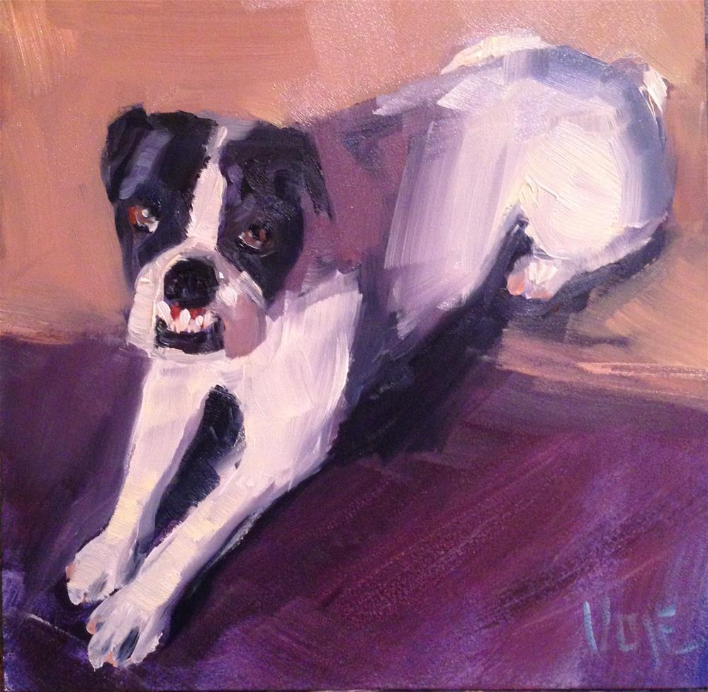 """""""#87 Looking for Love"""" original fine art by Patty Voje"""