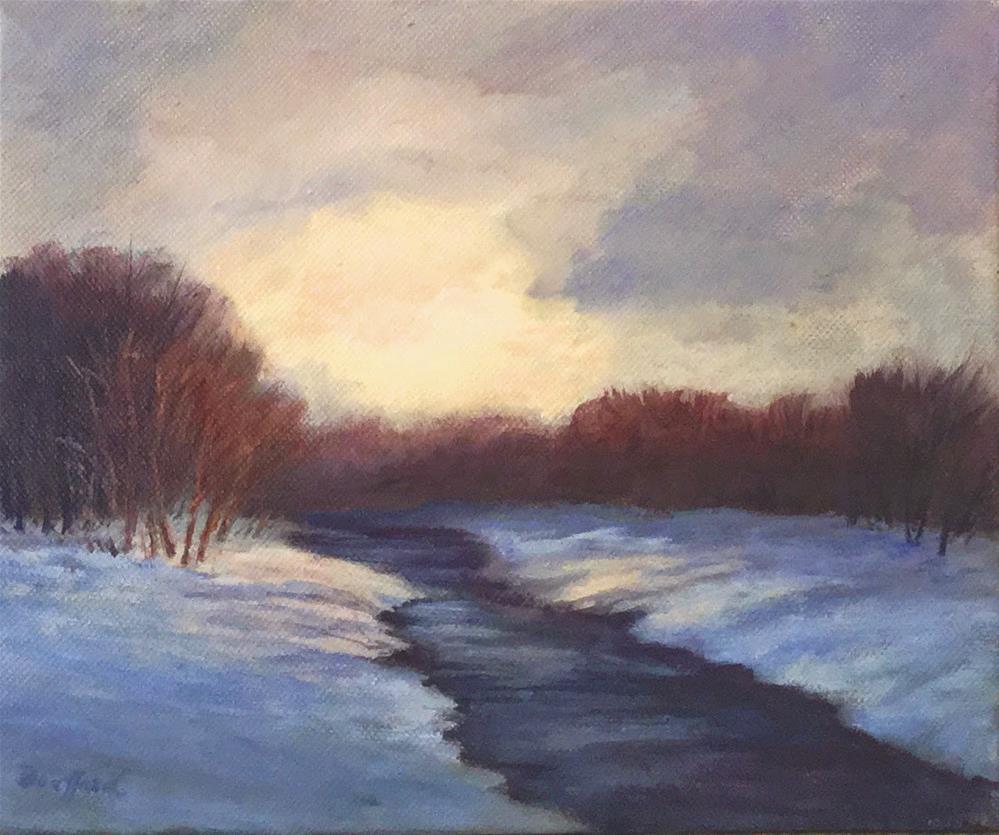 """Illumination - January Studio Sale"" original fine art by Vikki Bouffard"