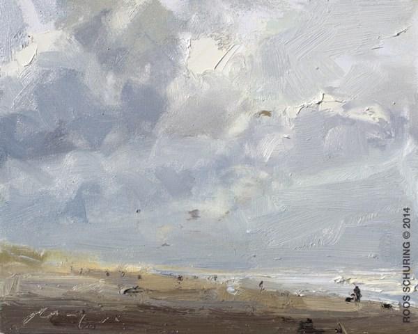 """""""SSU08-2014 Schuring The Sky"""" original fine art by Roos Schuring"""