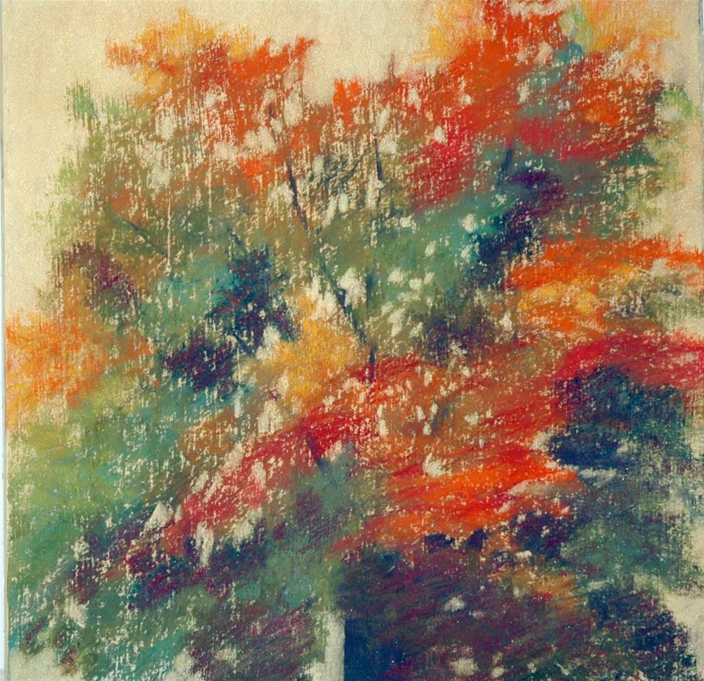 """Maple Tree II"" original fine art by Carol Wiley"