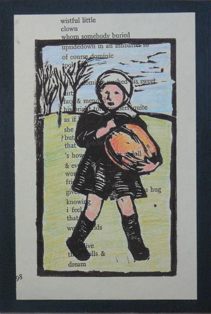 """""""Harvest"""" original fine art by Leigh Buchanan"""
