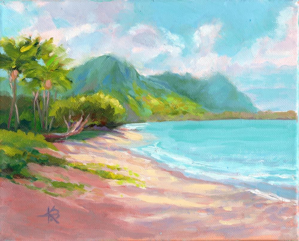 """Paradise"" original fine art by Kathy Bodamer"