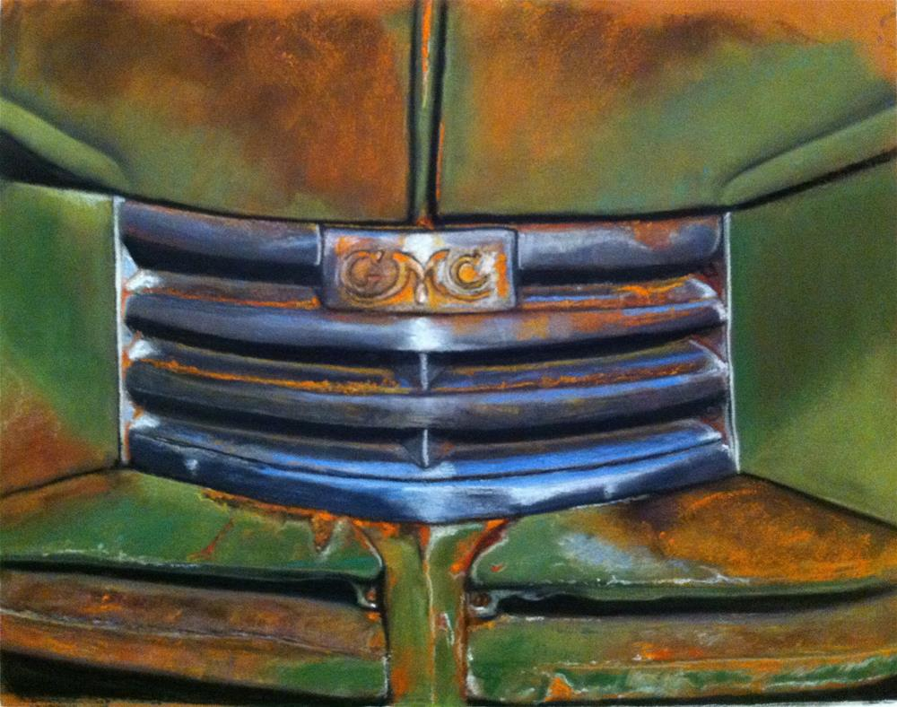 """Palouse GMC"" original fine art by Cristine Kossow"