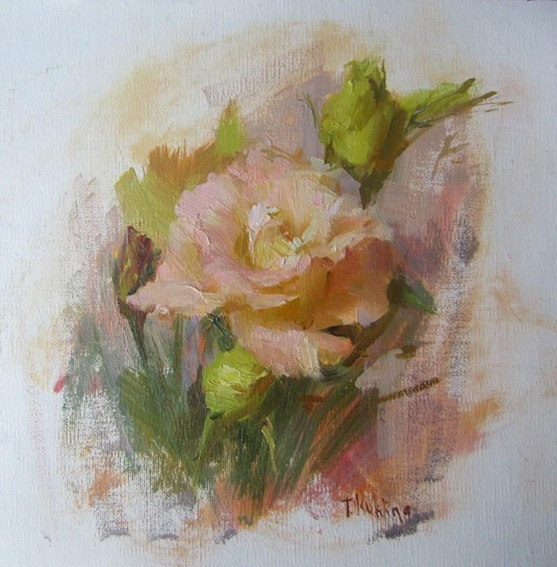 """""""flowers"""" original fine art by Taisia Kuklina"""