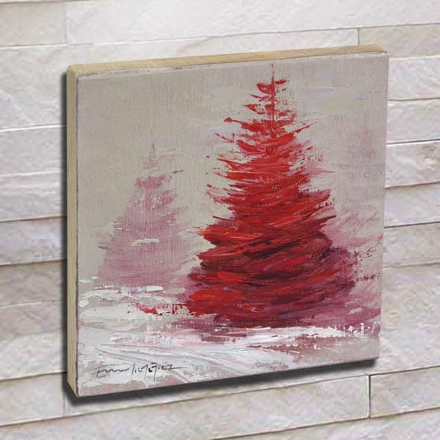 """Árbol 19"" original fine art by Emilio López"