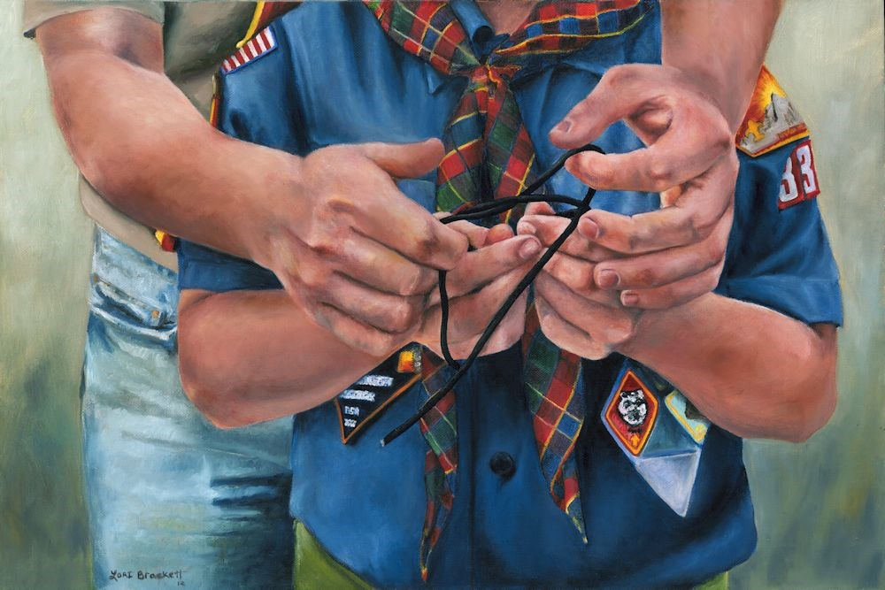 """Ties That Bind"" original fine art by Lori Brackett"