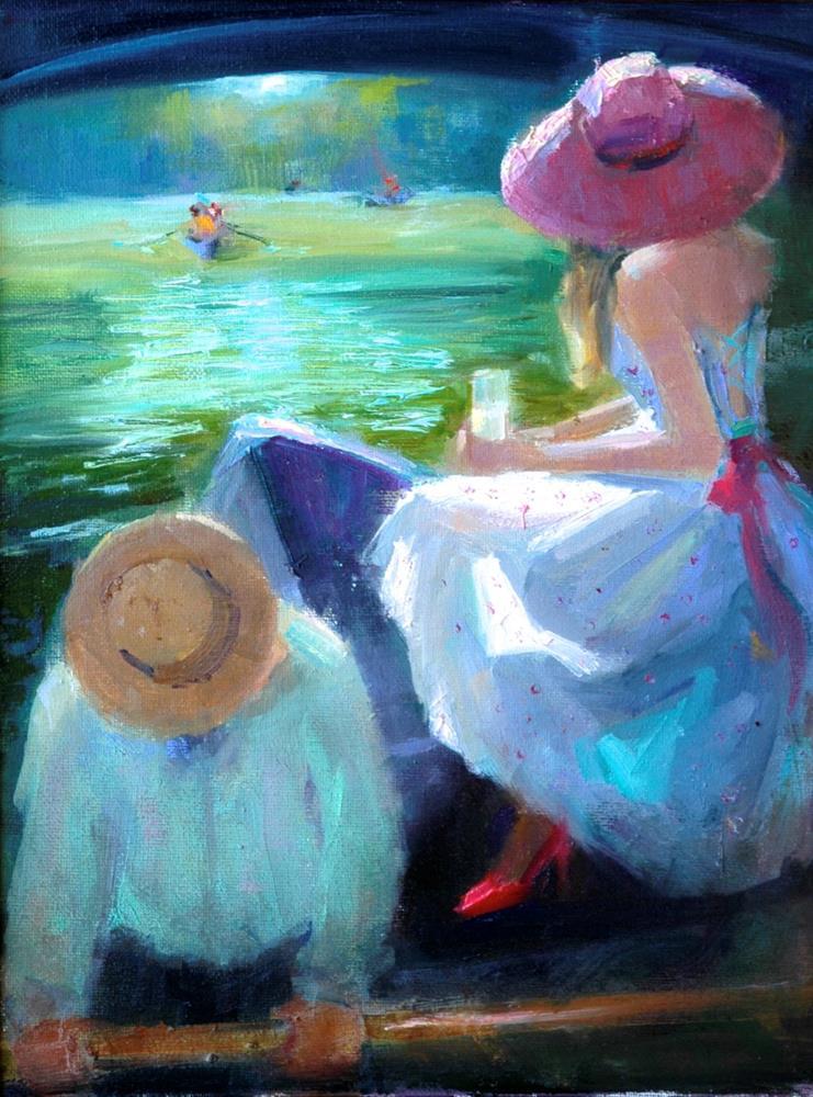 """Lemonade"" original fine art by Johanna Spinks"