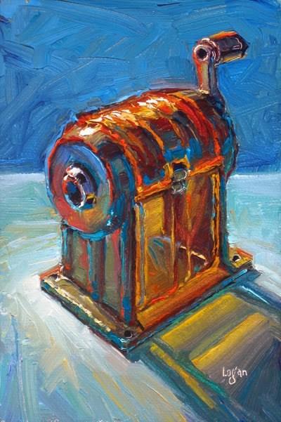 """Dixon Enduro No. 20"" original fine art by Raymond Logan"