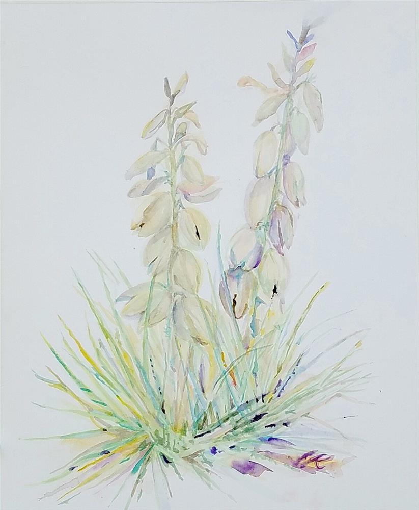 """Yucca"" original fine art by jean krueger"