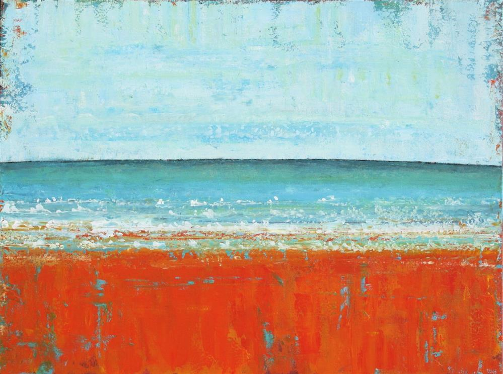 """Salt Water Sky: Ocean"" original fine art by Sage Mountain"