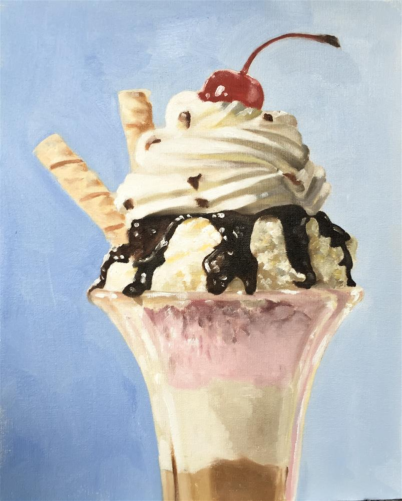 """Sundae"" original fine art by James Coates"