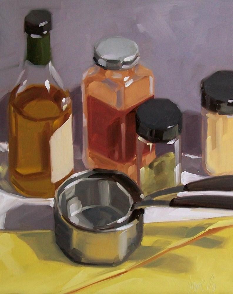 """""""Preparation"""" original fine art by Brandi Bowman"""