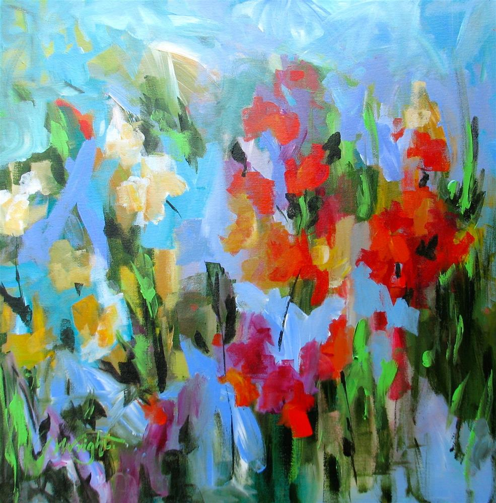"""Floret"" original fine art by Molly Wright"