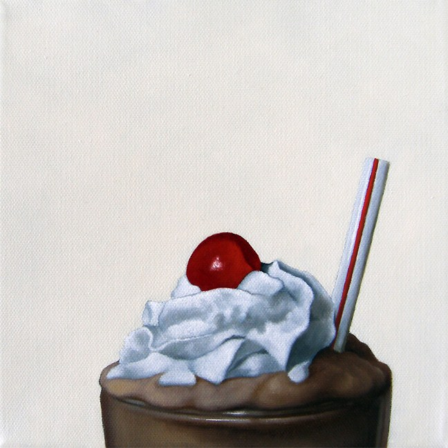 """Cherry On Top"" original fine art by Jelaine Faunce"