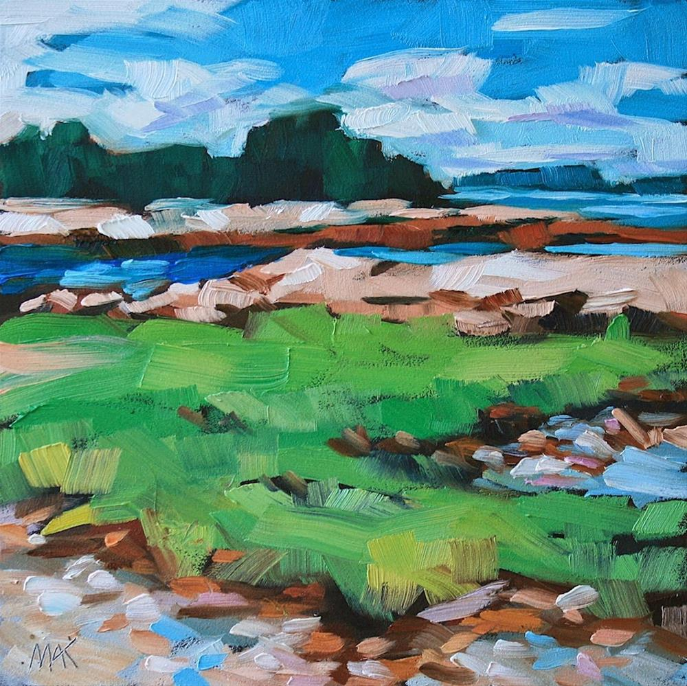 """In Acadia"" original fine art by Mary Anne Cary"