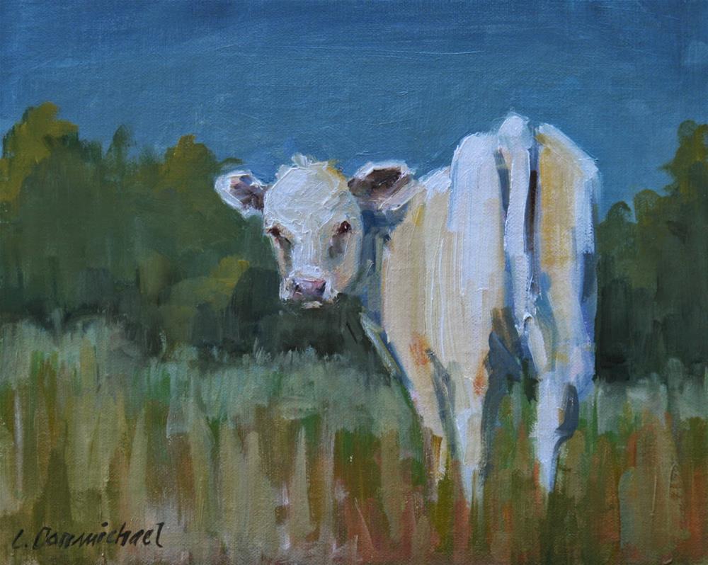 """kathleen"" original fine art by Carol Carmichael"