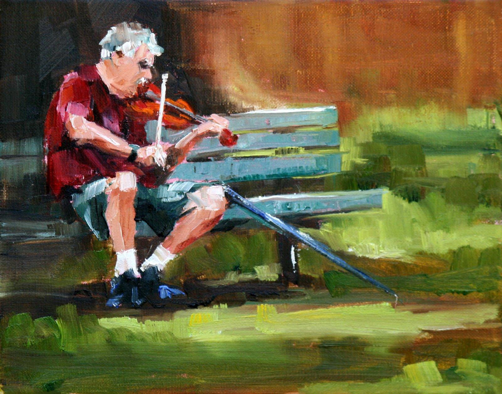 """""""morning melody"""" original fine art by Carol Carmichael"""