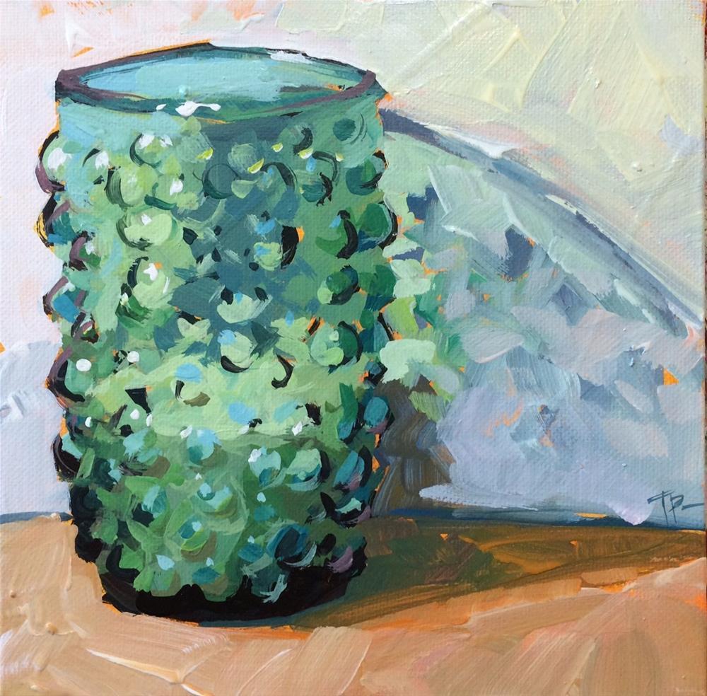"""Bubble Glass"" original fine art by Teddi Parker"