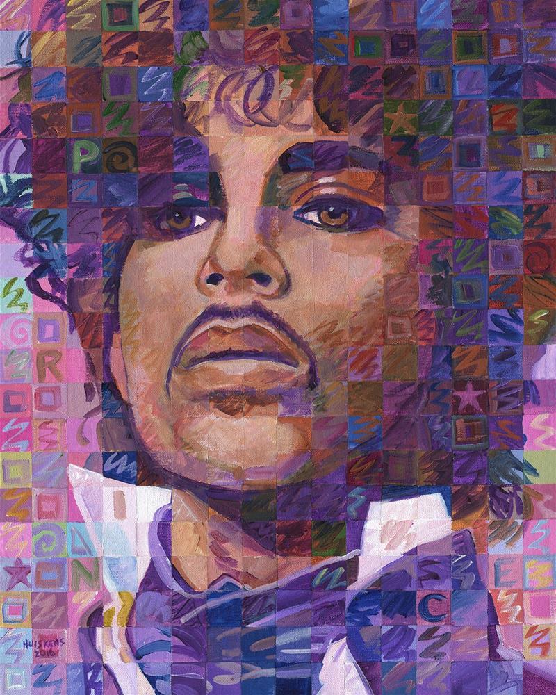 """Prince"" original fine art by Randal Huiskens"
