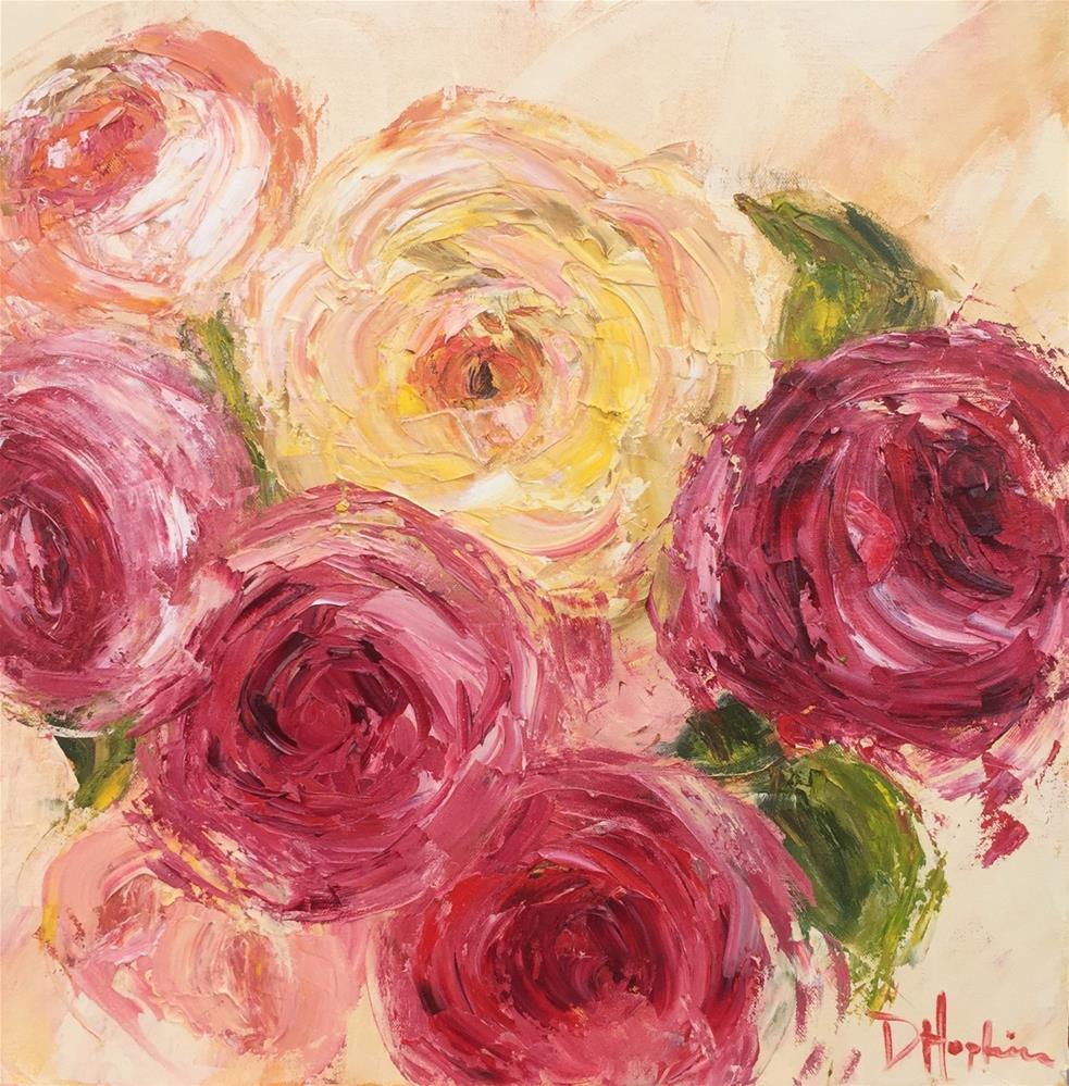"""Bloom"" original fine art by Denise Hopkins"