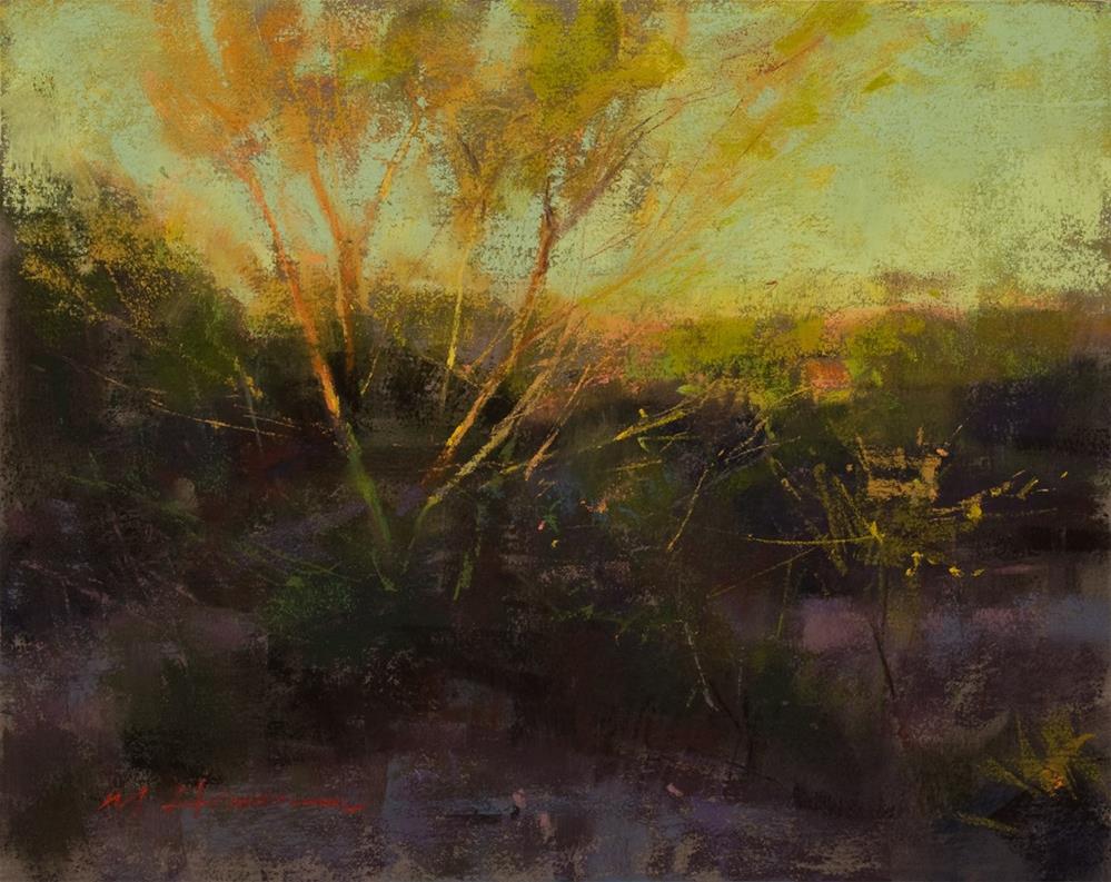 """Desert Surprise"" original fine art by Marc Hanson"
