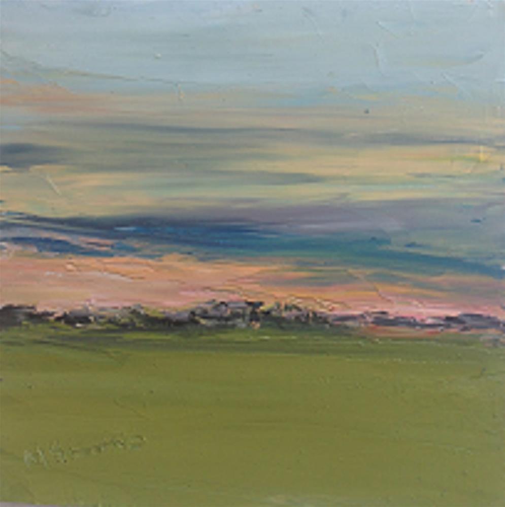 """Sunset Ireland  #3"" original fine art by Marie O' Higgins"