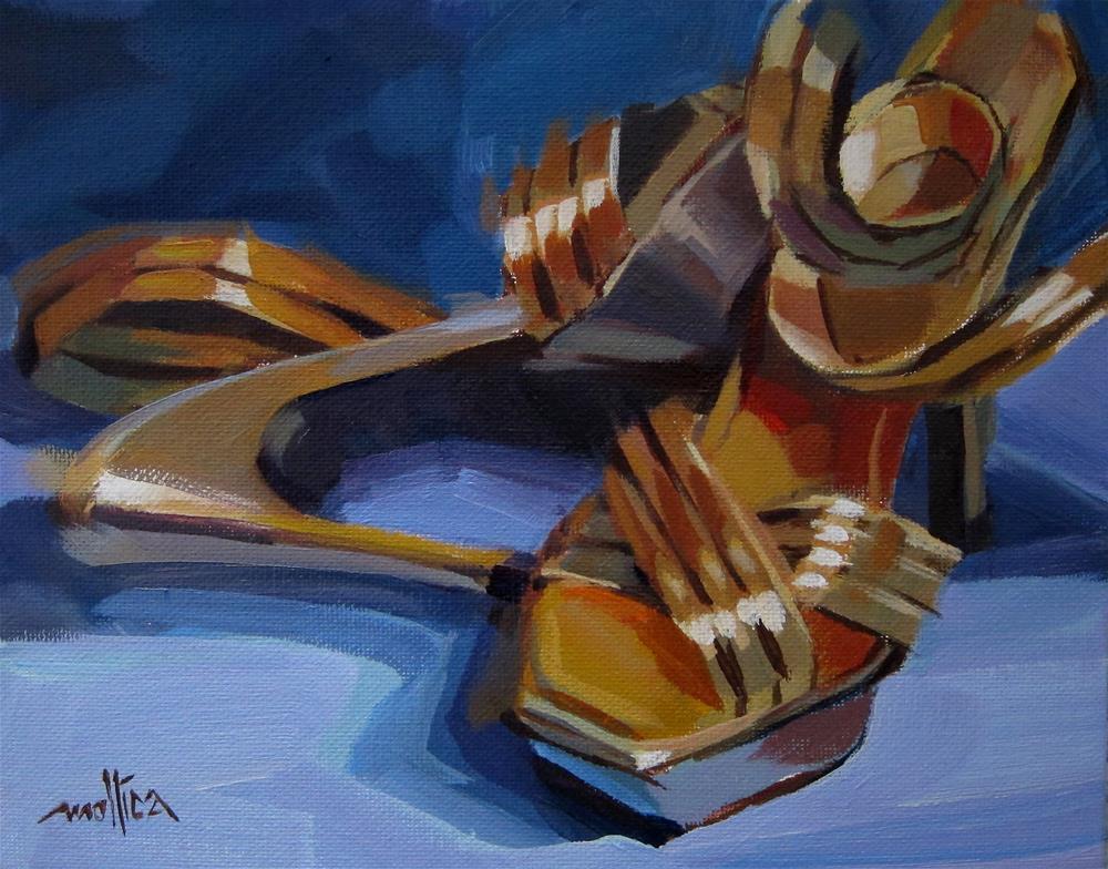 """""""Precious Metals"""" original fine art by Patti Mollica"""