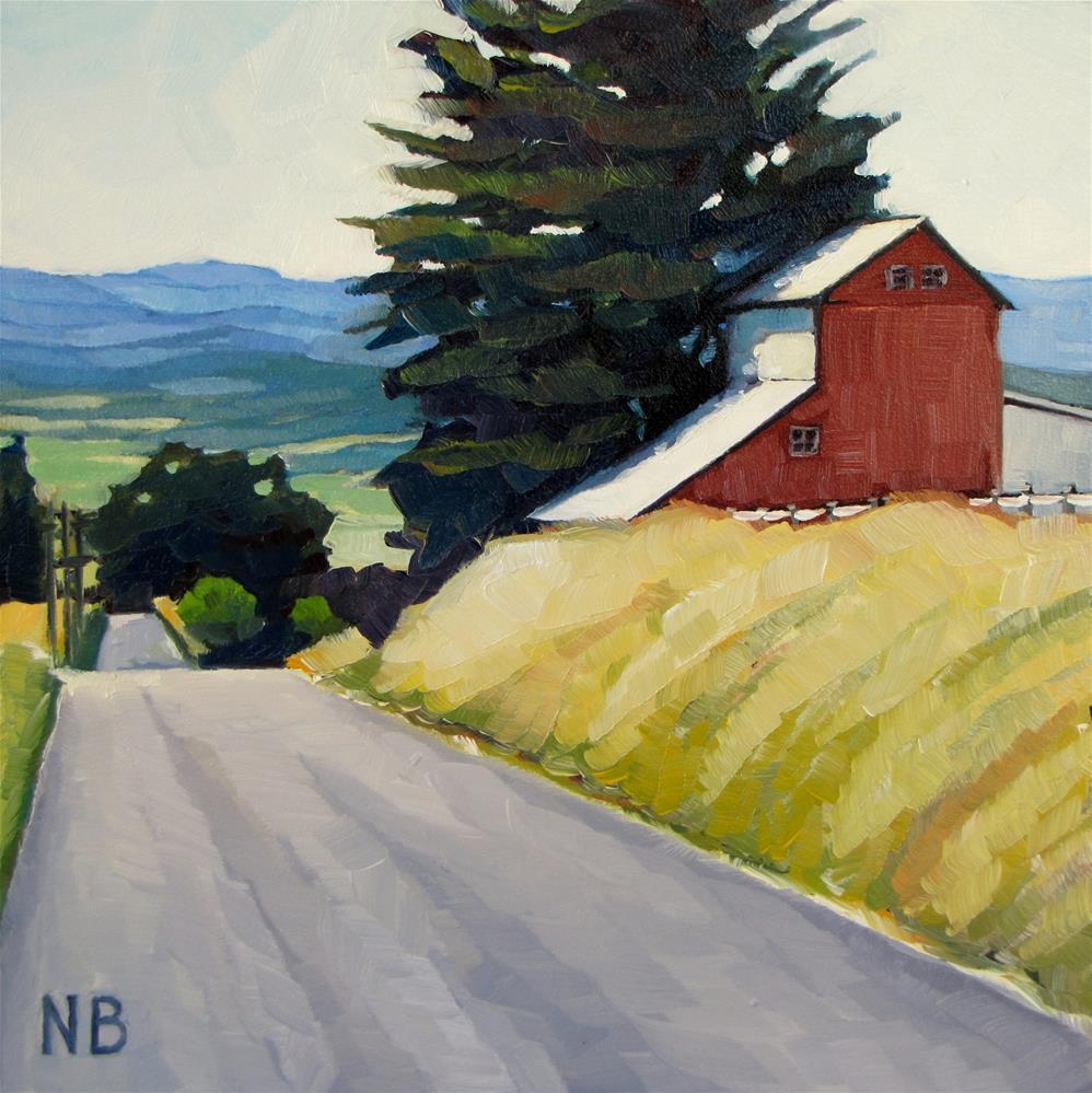 """Yamhill Hills"" original fine art by Nora Bergman"