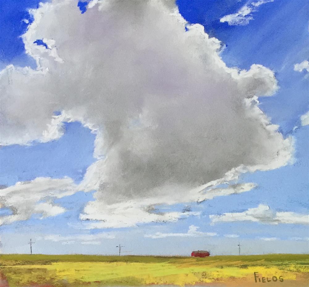 """""""Texas Sky"""" original fine art by Bethany Fields"""
