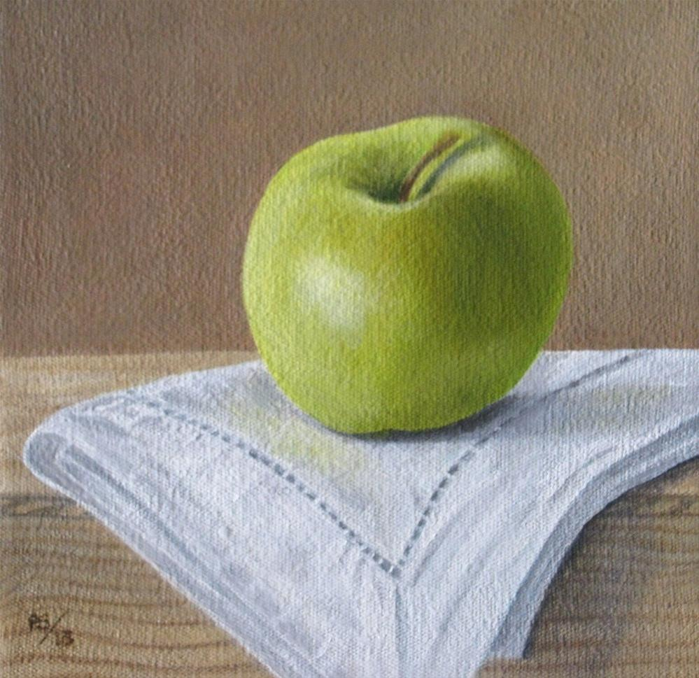 """Golden Delicious"" original fine art by Pera Schillings"