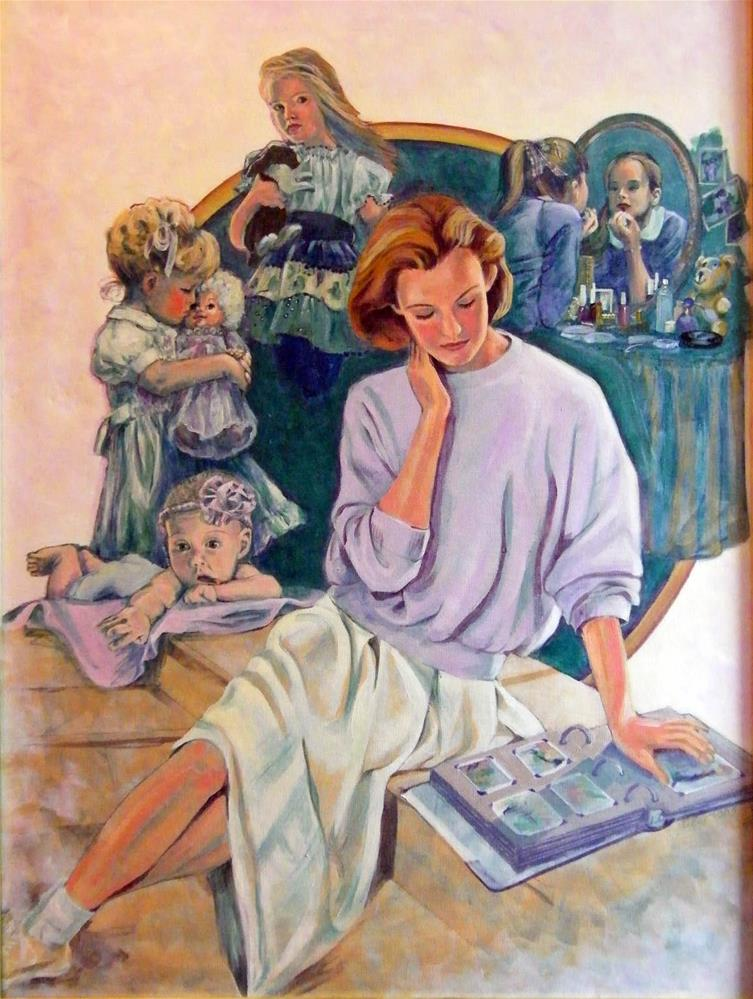 """Memories"" original fine art by Donna Whatcott Parsons"