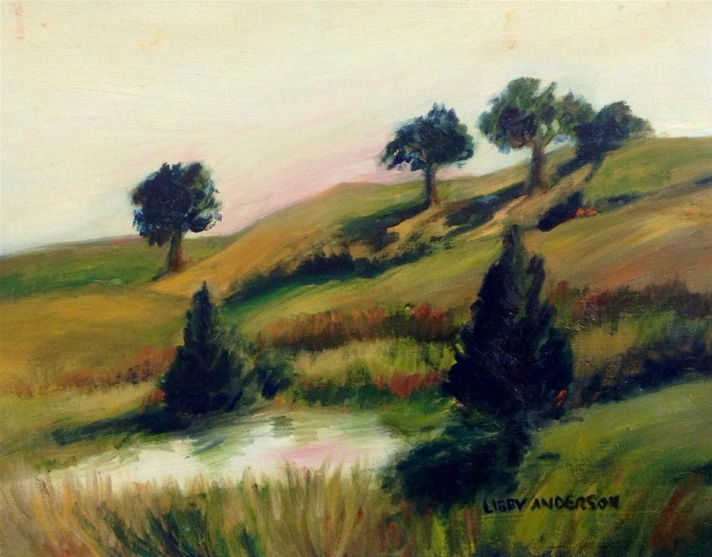 """Close to Siena"" original fine art by Libby Anderson"