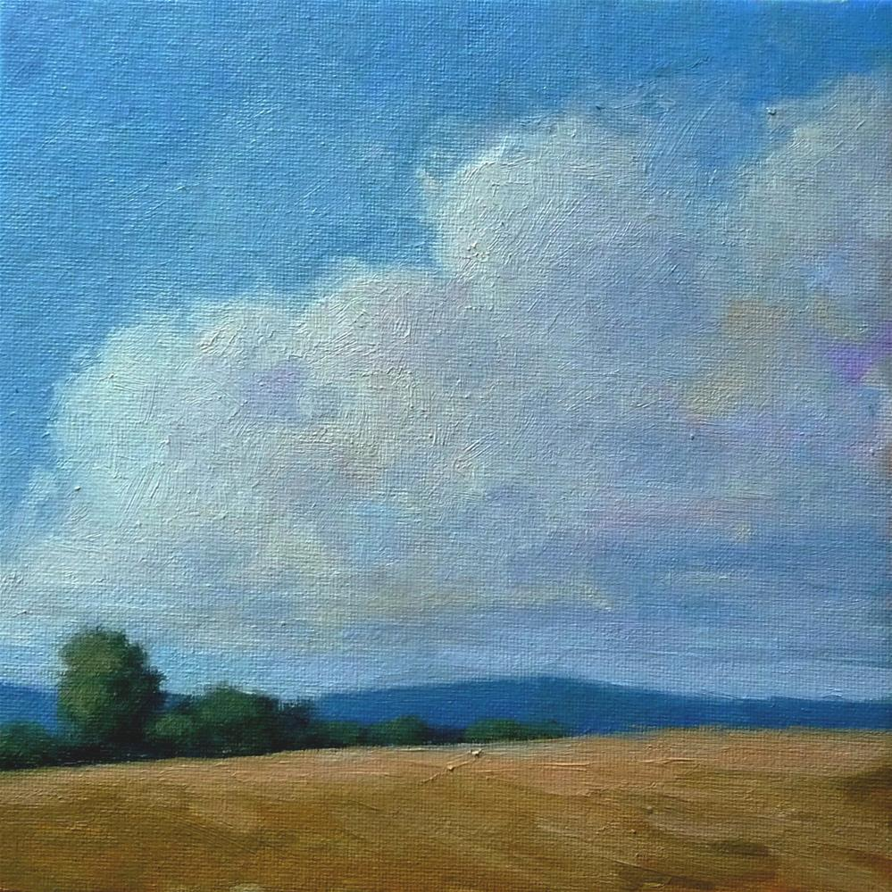 """Top of the Hill"" original fine art by Lisa Kyle"