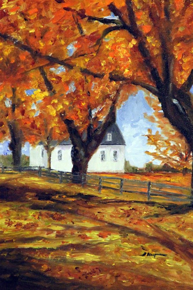 """""""Glorious Fall"""" original fine art by Shelley Koopmann"""
