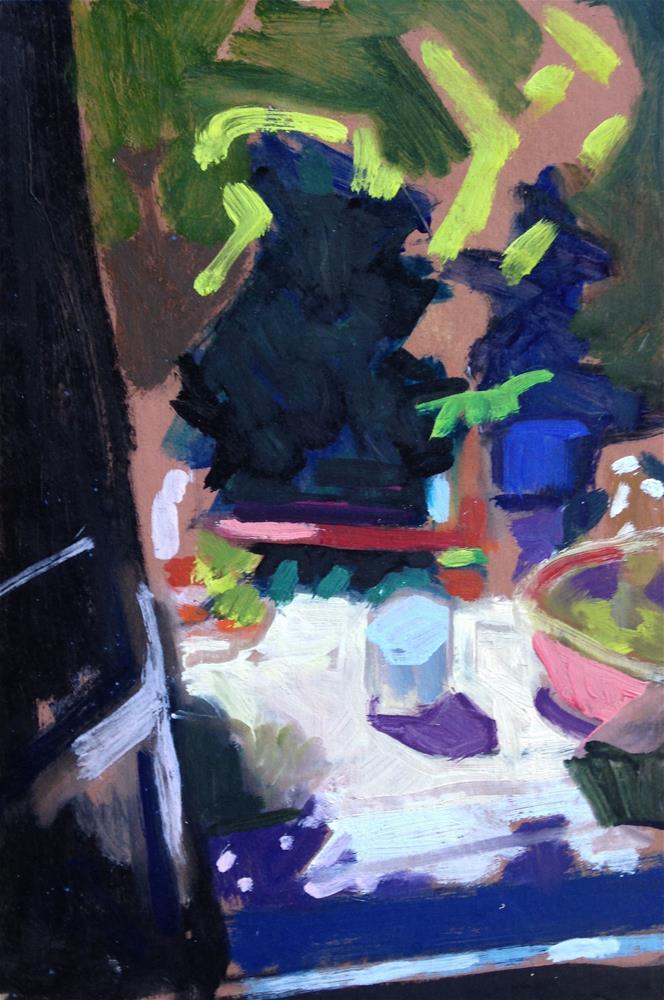 """View From My Studio"" original fine art by Pamela Hoffmeister"