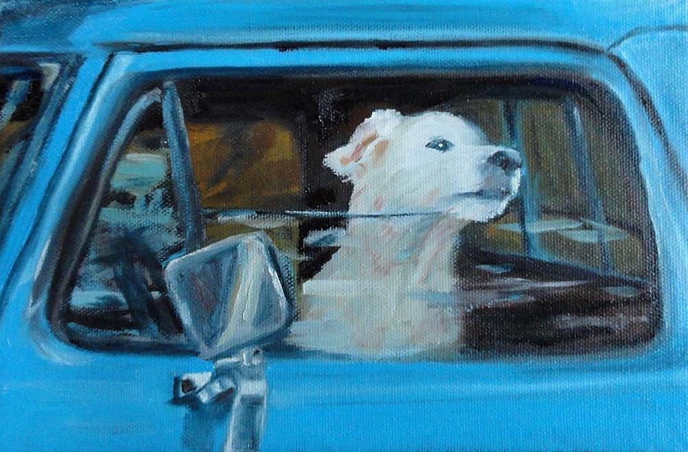 """Waiting"" original fine art by Cietha Wilson"