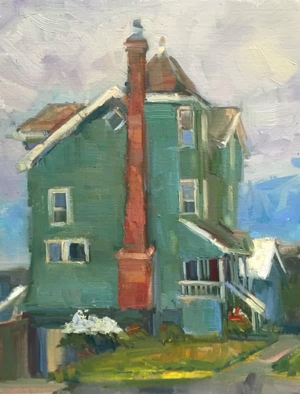 """""""Nye Beach"""" original fine art by Patti McNutt"""