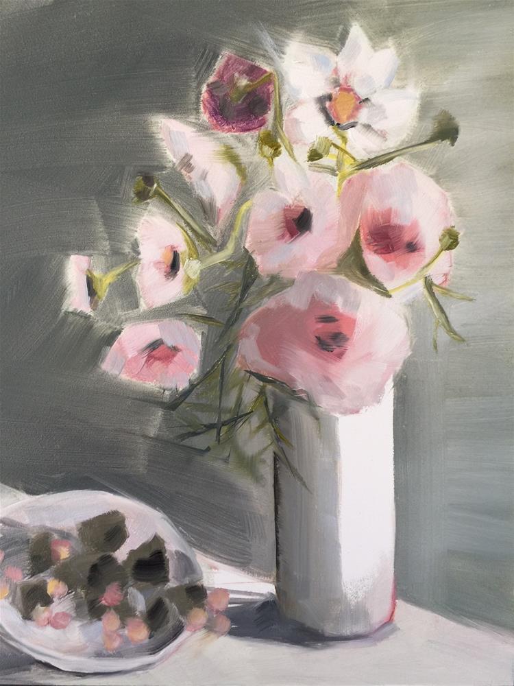"""402 All the Love"" original fine art by Jenny Doh"