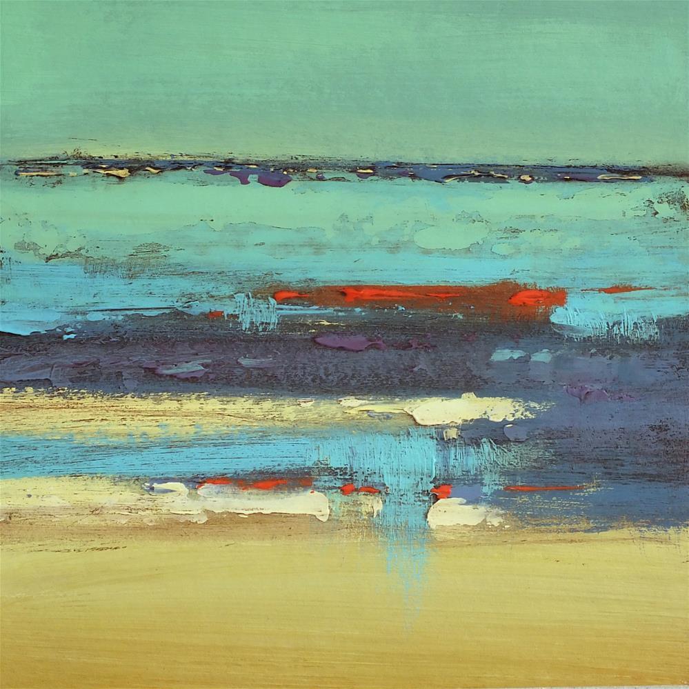 """Landscape 244"" original fine art by Ewa Kunicka"