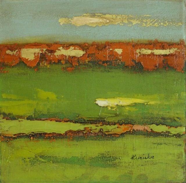 """Landscape 22"" original fine art by Ewa Kunicka"