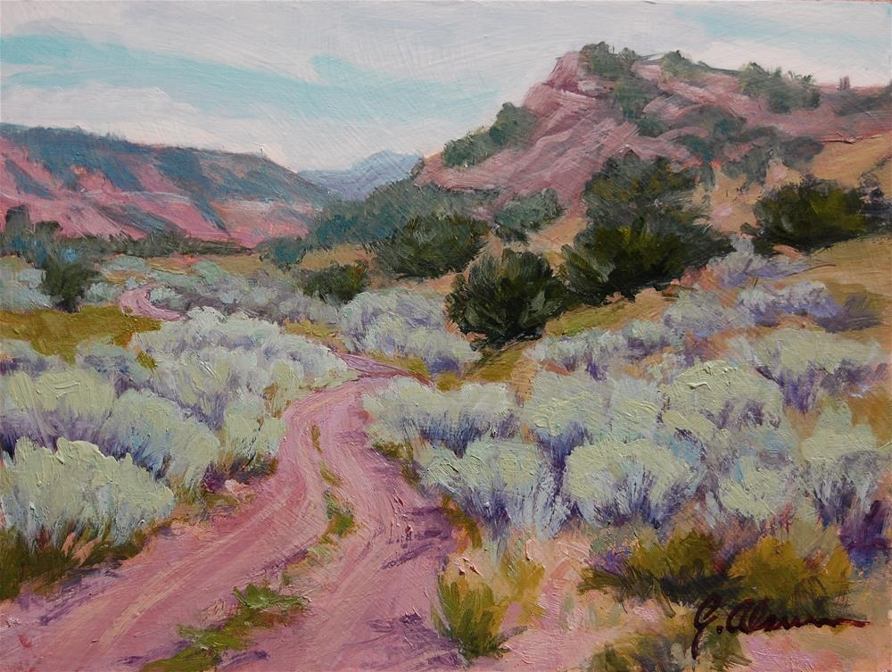 """West of Mogote"" original fine art by Gary Alsum"