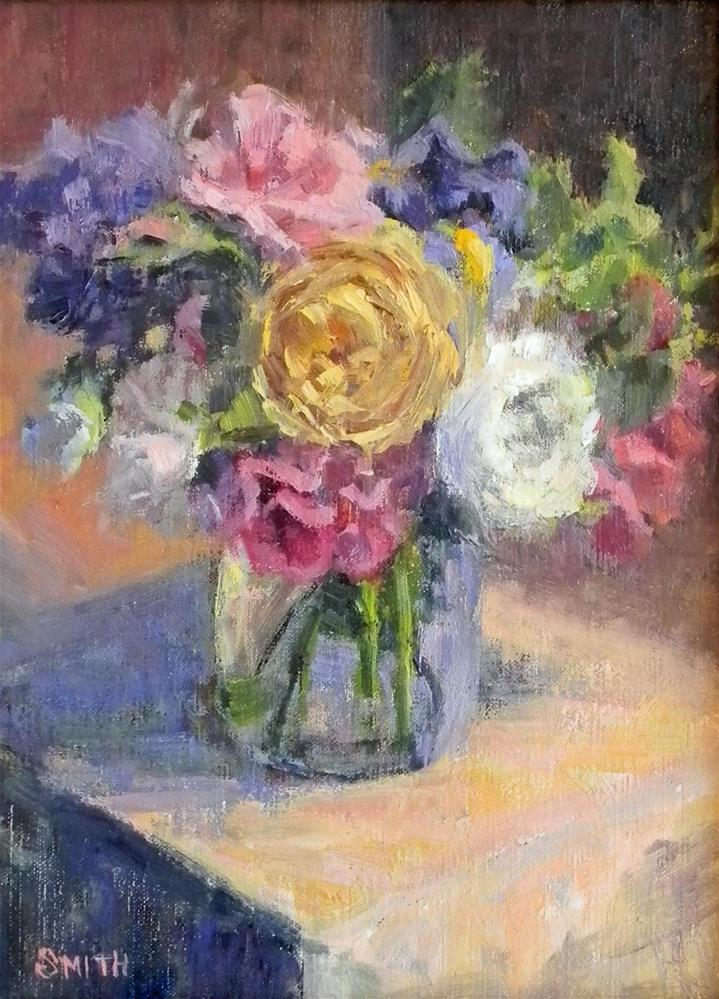 """Birthday Bouquet"" original fine art by Barbie Smith"