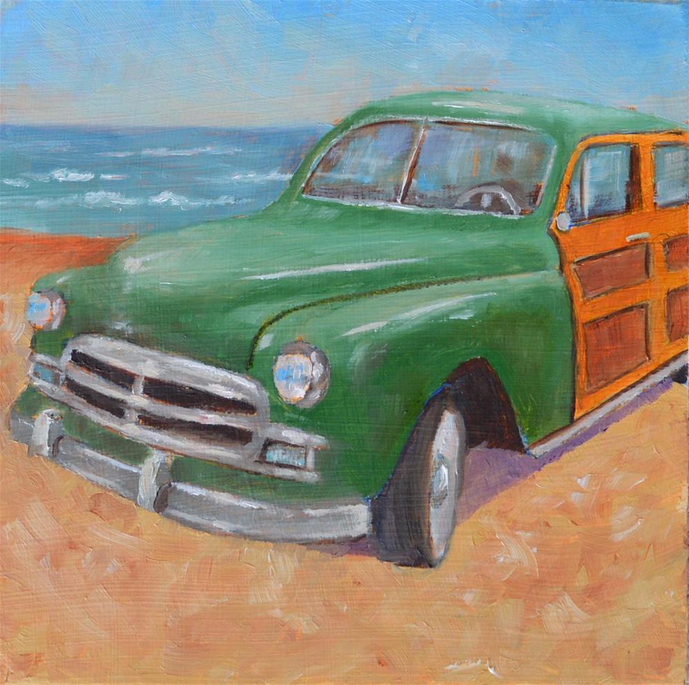 """Beach Woody"" original fine art by Robert Frankis"