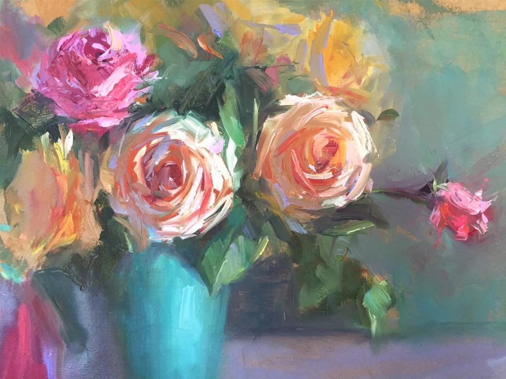 """Abundance"" original fine art by Johanna Spinks"
