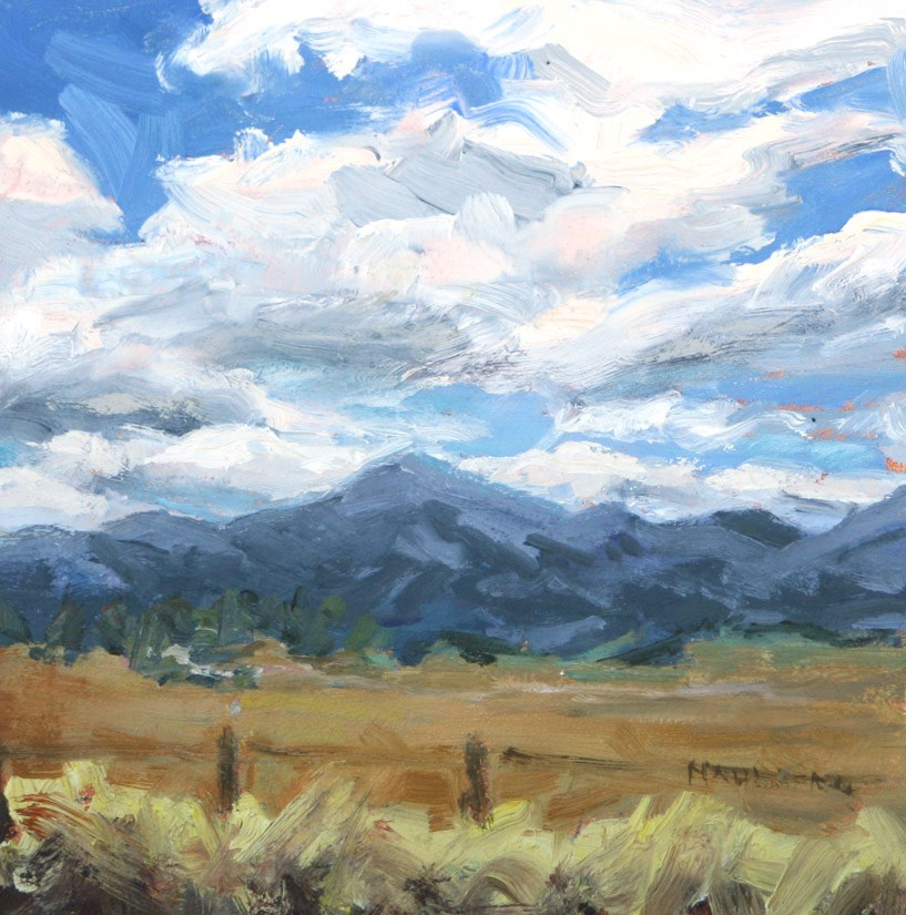 """The Road to Bend"" original fine art by Cynthia Mahlberg"