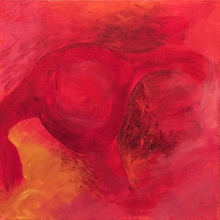 """""""Get Stronger"""" original fine art by Madeleine Hoffmeister"""